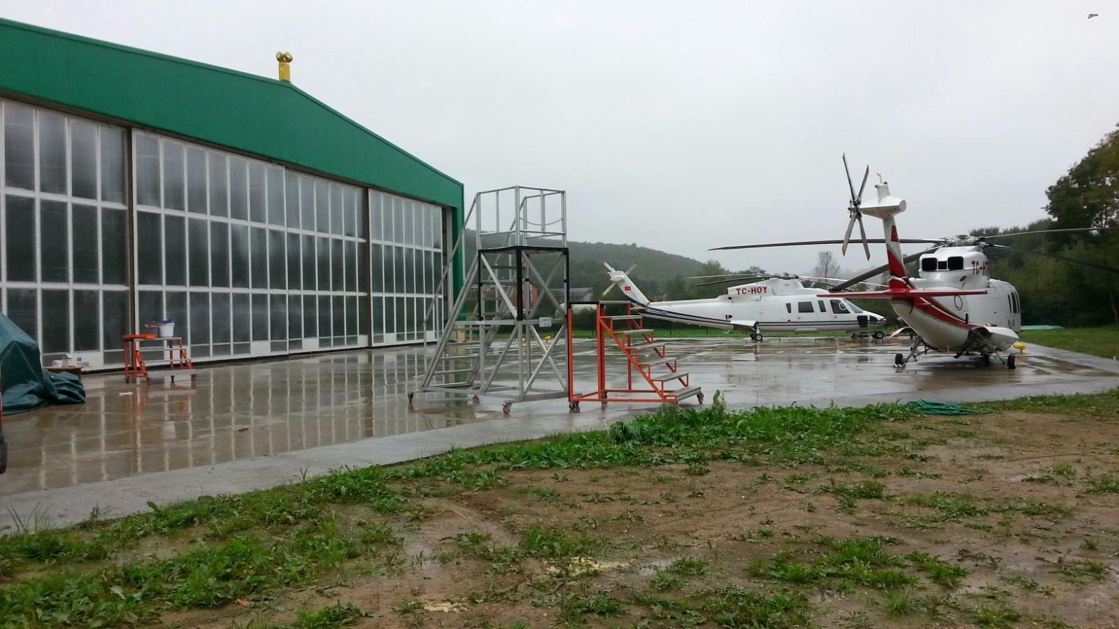 Saklıport Hangar