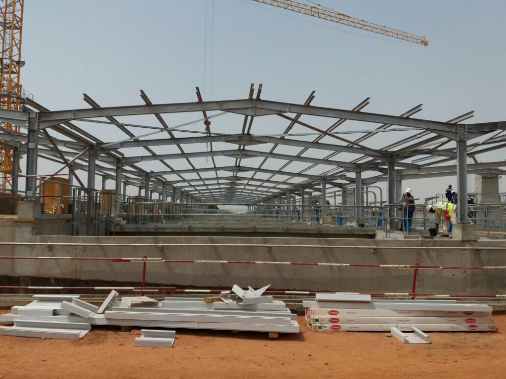Water Treatment System Steel Construction Fabrication